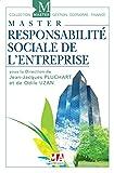 Master Responsabilité Sociale de l'Entreprise - Ed 2017