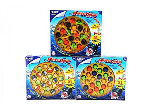 Globo Toys Globo-37183Angeln Familie Spiel mit Musik Zubehör