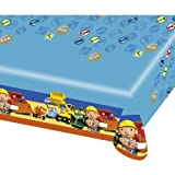Amscan Bob The Builder Plas Table/ Cover