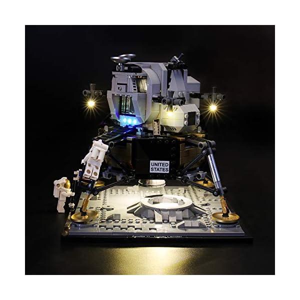 LIGHTAILING Set di Luci per (Creator NASA Apollo 11) Modello da Costruire - Kit Luce LED Compatibile con Lego 10266 (Non… 2 spesavip