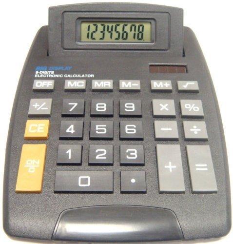 Preisvergleich Produktbild Deet® Taschenrechner mit 8-Zeichen-Display, ideal für das Home-Office, Schule, Mathematik, Buchhaltung und Finanzwesen etc., keine wissenschaftlicher Taschenrechner und einfach zu bedienen, - **Batterien sind im Lieferumfang enthalten**