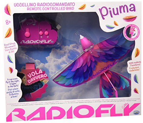 ODS 37970 - Radiofly Piuma: Uccellino Radiocomandato, 4 Funzioni