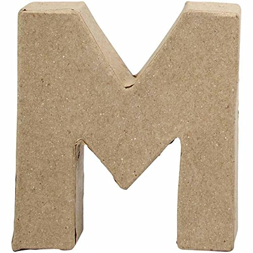 letter-small-h-10-cm-m-1pc-w-9-cm