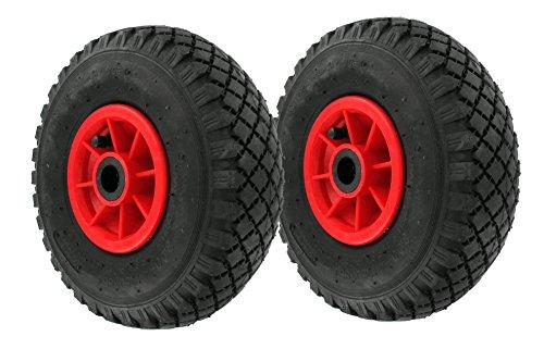 2 Stück DKB Luftrad 260 x 85 mm 3.00-4 Sackkarrenrad - Bollerwagen -