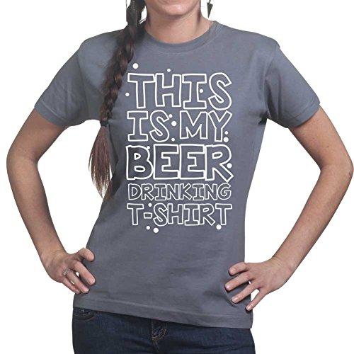 king Ladies Womens T shirt (Beer Pong Becher Kostüm)
