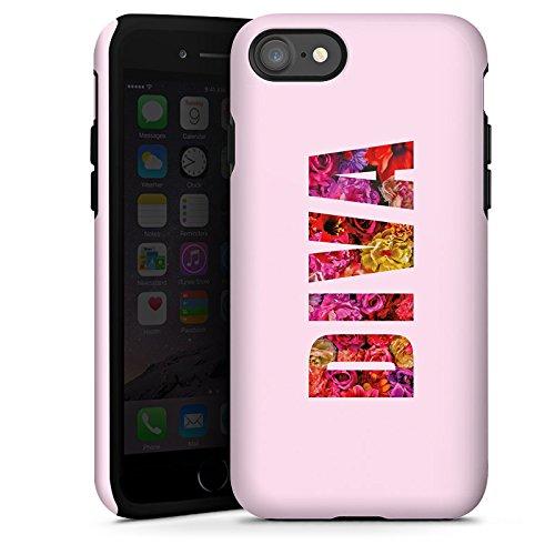 Apple iPhone X Silikon Hülle Case Schutzhülle Mädchen Sprüche Frauen Tough Case glänzend
