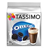Tassimo Oreo Cocoa, Hot Chocolate, Cookie Flavour, 16 Discs (8 Cups), 0489 by Tassimo
