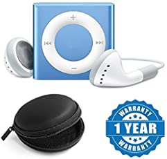 Drumstone Mini Shuffle Mp3 Player, Rechargeable & USB Drive With Earphone Pouch