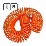 10 m PE Luftschlauch Druckluft Spiralschlauch Ø 5 x 8 mm