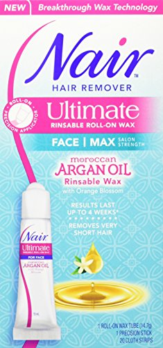 Nair Ultimate Rinsable Roll-On Wax With Argan Oil, 15 ml