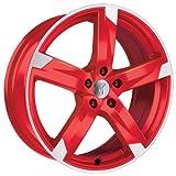 Alufelge Rondell Z 01RZ Mazda Mazda 6 7,5x17 5x114 ET 45 Racing Rot, poliert