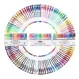 Stylos Billes à Encre Gel Multicolores pour Livre de Coloriage, Dessin, Coloration, Griffonnage et Croquis Lot de 100 Vente par FUNLAVIE