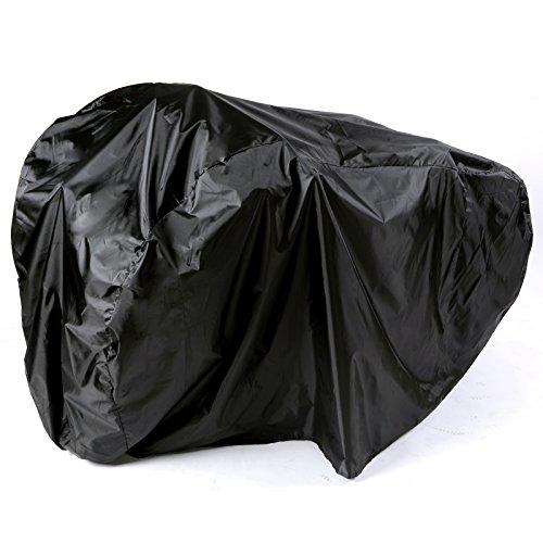 SAVFY Regenschutz für 2 Fahrräder, wasserdicht, für Garage - Shelter-garage