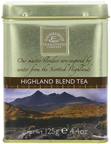 Edinburgh Tea and Coffee Company Highland Blend Tea Caddy 125 g (Pack of 3)
