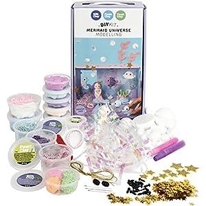 Creativ Company 97061 - Juego de Manualidades con diseño de Sirena, Multicolor