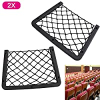 Xpork 2PCS Elastic Net Rack Storage Wallmounted Holder Car Caravan Motorhome