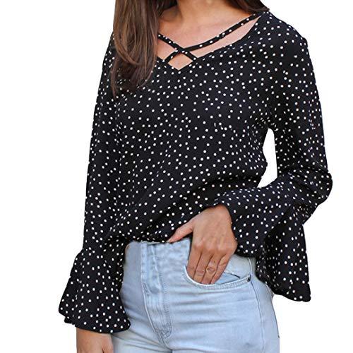 Maglietta di donna eleganti,donna casual camicia manica lunga top chiffone camicetta camicia chiffon top di uomogo