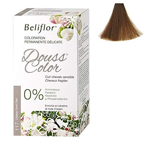 Beliflor - Coloration Dousscolor Châtain Doré Clair 131ml - 135Ml - Vendu par pièce - Livraison Gratuit en France