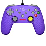 Manette filaire Steelplay pour Nintendo Switch - violet