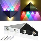 5W Triangolo Colorato LED Lampada da parete wall lamp Luce bianca calda lampada applique LED sala lampada corridoio Deco LD525
