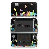 Nintendo New 3DS XL Case Skin Sticker aus Vinyl-Folie Aufkleber Spiel 8-Bit Tetris Bunt