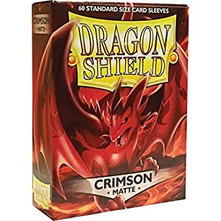 Arcane Tinmen ApS ART11221 Sleeves: Dragon Shield Matte Crimson (Red) (60)