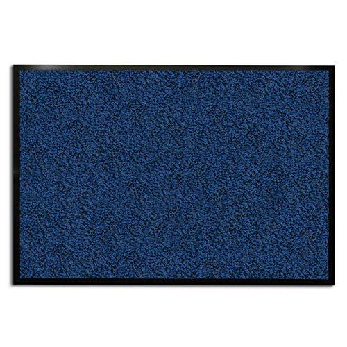 Tappeto cattura sporco per ingresso casa pura® linea Sky | Blu/Melangiato| diverse misure, 90x120 cm - Entrata Unità