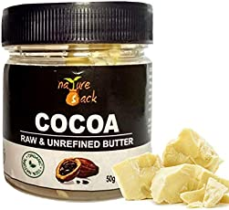 NatureSack Raw Unrefined Cocoa Butter Jar, 50g