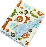 Best Toddler Blanket - Baby Bucket AC Double Layer Velvet Animal Newborn Review