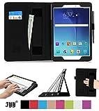 FYY Samsung Galaxy Tab A 9.7 Hülle-Ultra Schlank leicht Ständer Cover Schutzhülle mit Auto Schlaf/Wach Funktion für Samsung Galaxy Tab A 9,7 Zoll, Schwarz