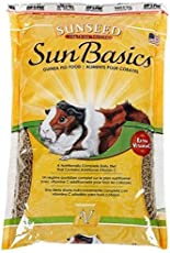 Sunseed Sun Basics Guinea Pig Food 1.3kg I Aliments Pour Cobayes & Extra Vitaminc C I A Complete Daily Diet.