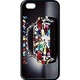 Coque apple iphone 5c voiture bmw art coloré