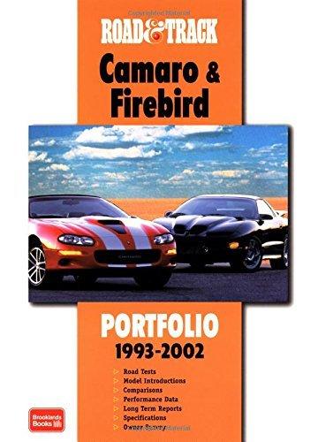 Road & Track Camaro & Firebird 1993-2002 Portfolio (Road & Track Series) by R.M. Clarke