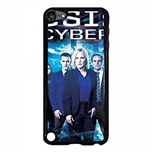 CSI Cyber Ipod Touch 5th Case, CSI: Cyber Logo Phone Shell Back Cover,Pc Hard Shell Skin Cover Case S6P6BR