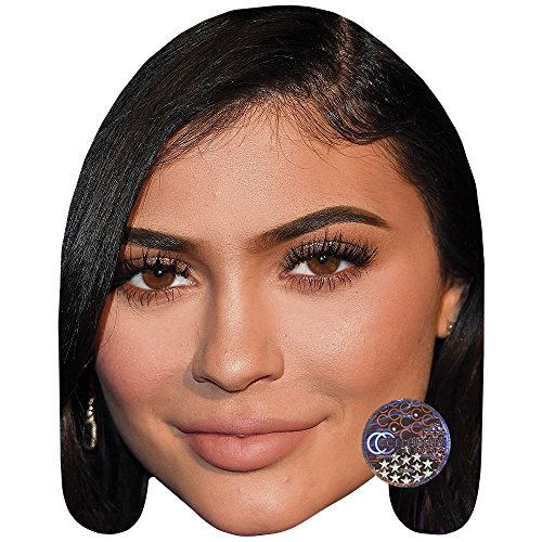 Celebrity Cutouts Kylie Jenner (Hair) Maske aus Karton
