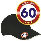 Zum 60. Geburtstag Baseball Cap Basecap Geschenke für Männer Männergeschenk mit Flaschenöffner Basecap 32884