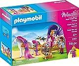 PLAYMOBIL 9161 Märchenschloss Königspaar mit Pferdekutsche, Mehrfarbig