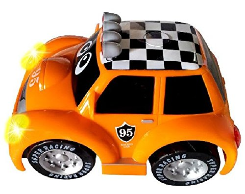 MGM - Baby Voiture Rallye Orange télécommandée 20 cm