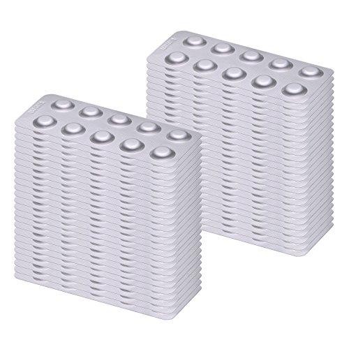 500 Pooltester Testtabletten DPD No. 1 Chlor / Brom (Tabletten Dpd 1)