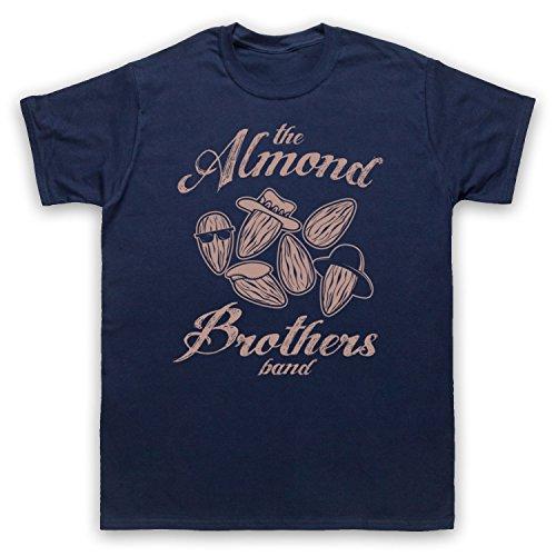 Almond Brothers Band Rock Band Herren T-Shirt Ultramarinblau