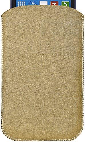 e5 PRESTIGE Hülle, Handytasche, Tasche für Handy, Sleeve Cover, Universal, Satin, Größe: L (5