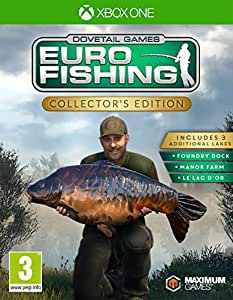Euro fishing collector 39 s edition xbox one for Fishing xbox one