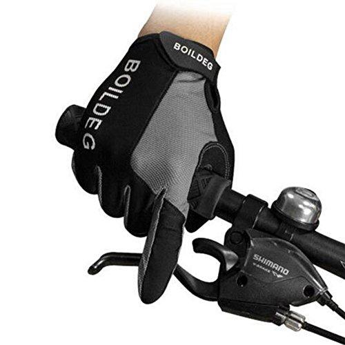 Fahrrad handschuhe, Sunbeter rutschfeste Winddicht Volle Finger Touchscreen Handschuhe für Fahrrad Racing & BMX für Frau / Männer Winter Sport Outdoor