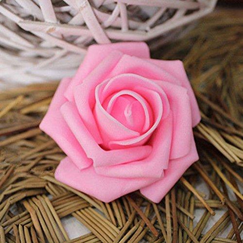 Niedrigerer Preis Mit 100 Hochzeit Deko Blumen Schaum Rosen Künstliche Blumen Rosenköpfe Den Menschen In Ihrem TäGlichen Leben Mehr Komfort Bringen Blumen, Blüten & Girlanden