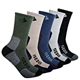 Best Hiking Socks - YUEDGE Men's Walking Socks Cushion Crew Outdoor Recreation Review