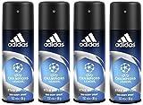 adidas UEFA League Herren, Deodorant Spray Champions Edition, 3er Pack (3 x 150 ml)