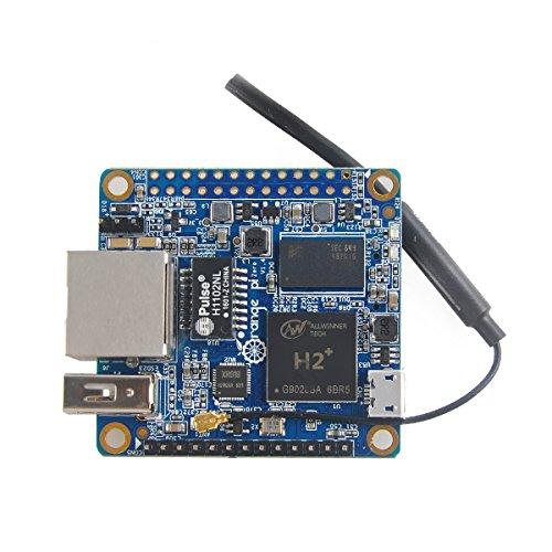 MakerHawk Orange Pi Zero H2 Quad Core Open-source 512MB Development Board with Wifi Antenna (Lite-source-welt)