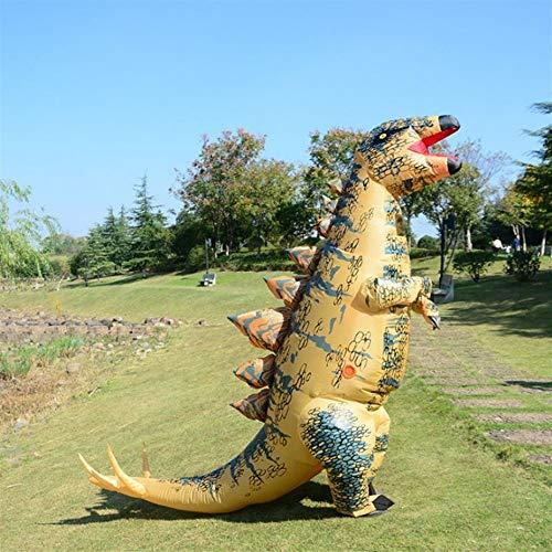 JZG Aufblasbare Stegosaurus Dinosaurier Kostüm Ostern Kostüme Blow Up Kostüm Kostümfestkleidung Für Erwachsene (Erwachsene Blow Für Up-kostüme)