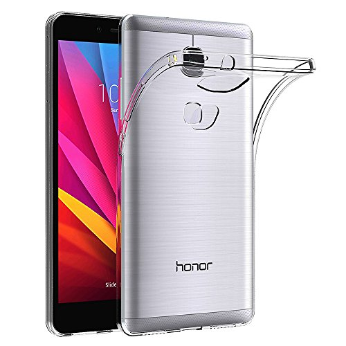 AICEK Huawei Honor 5X Hülle Case, Ultra-Clear Honor 5X Case Silikon Soft TPU Crystal Clear Premium Durchsichtig Handyhülle Schutzhülle Case Backcover Bumper Slimcase für Huawei Honor 5X