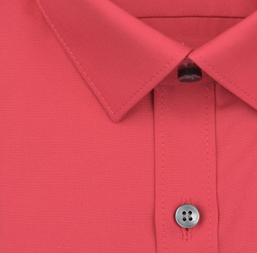 Olymp Herren Hemd No. 6 Super Slim Fit Langarm Mittelrot